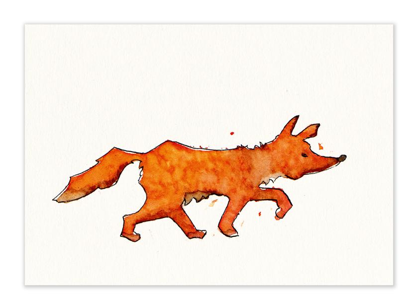 """Karte – """"Fuchs"""""""