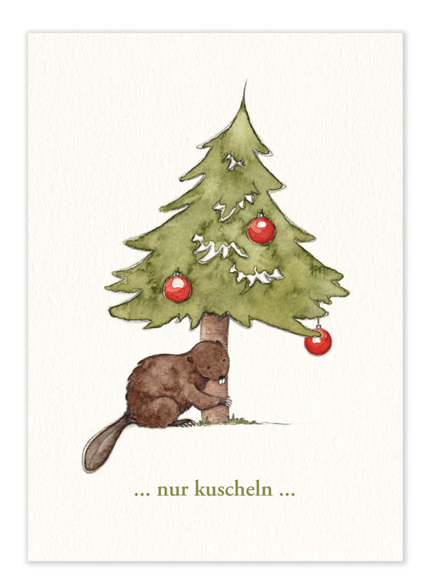 """Karte – """"nur kuscheln"""""""