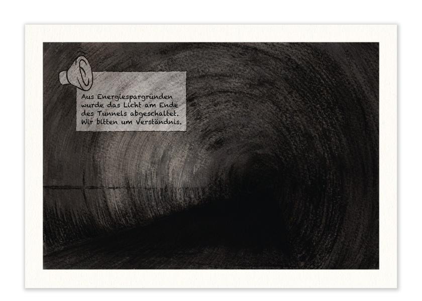 "Karte – ""Tunnel"""