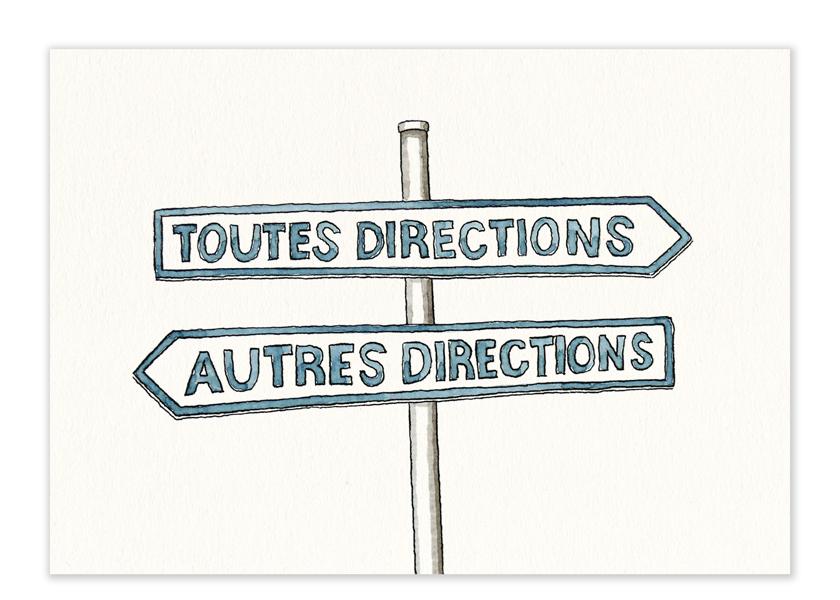 "Karte – ""Directions"""